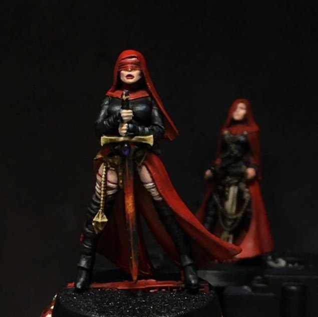 Nuns with Guns: Daughters of The Crucible / Orphanage painted!