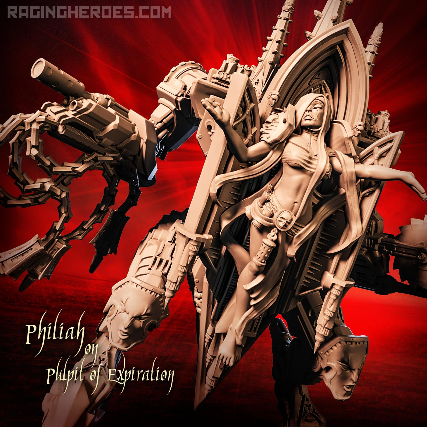 New mechas 🤖 Machines of Theodicy released: new war pulpits!