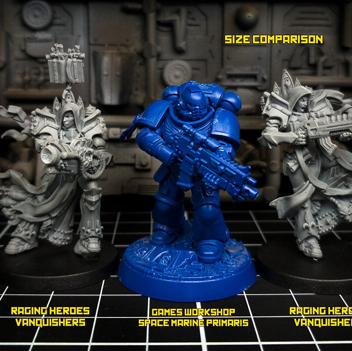 Vanquishers VS Space Marines 🌌 Size Comparison