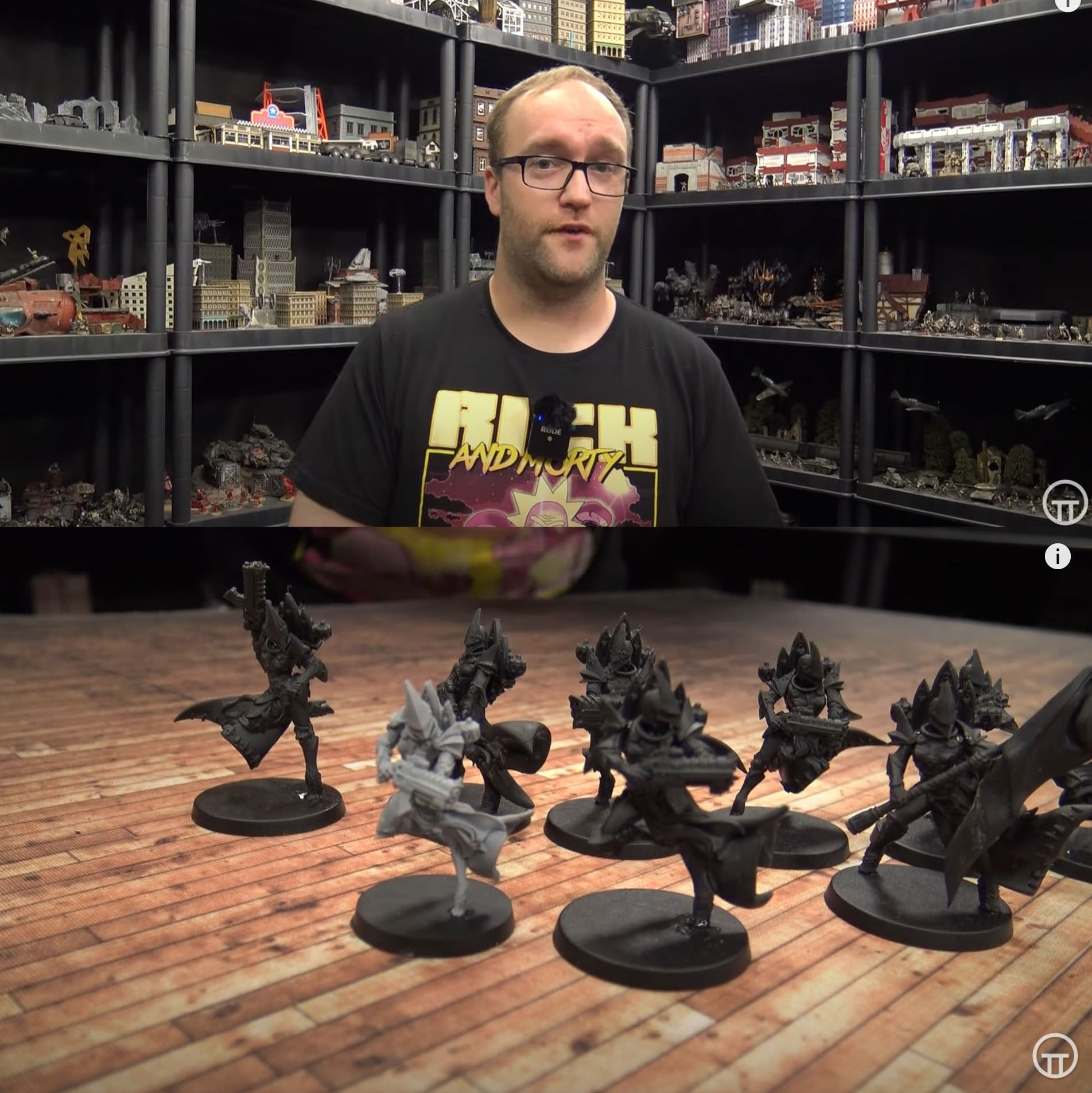 On Table Top Video: John compares the old and new Exemplar models!