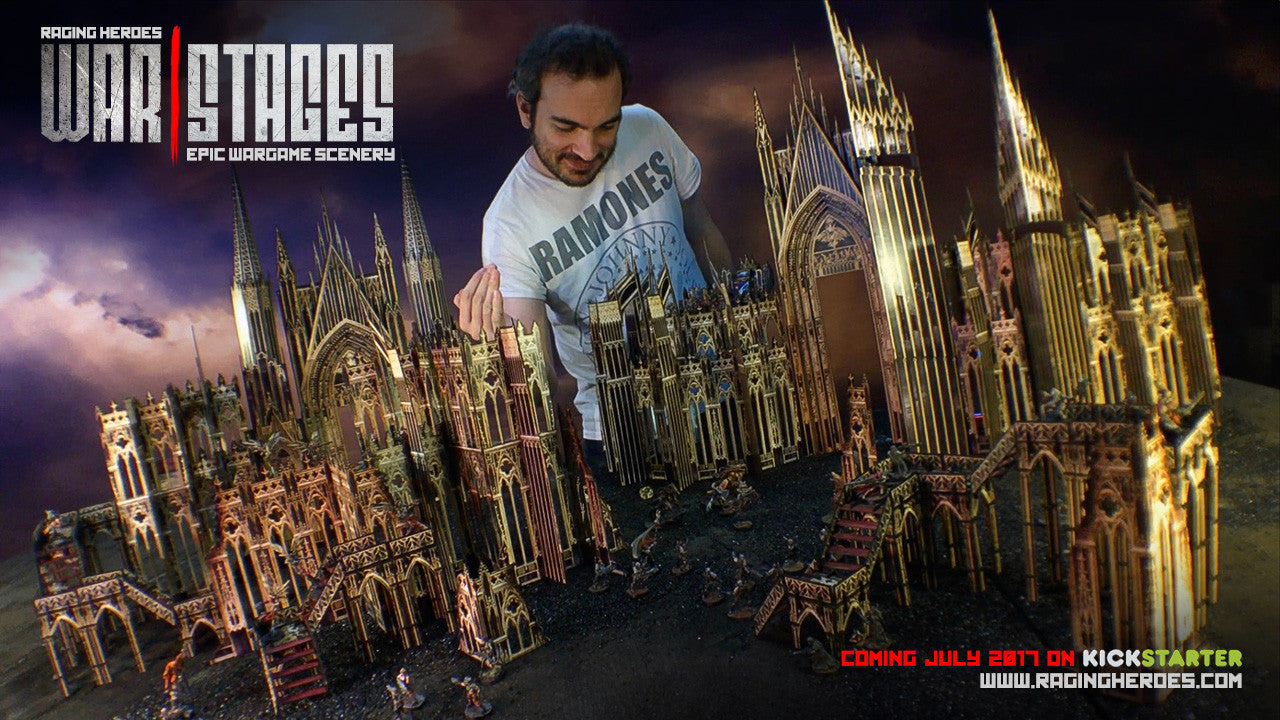 All about WarStages: The Gothic Cathedral - Raging Heroes
