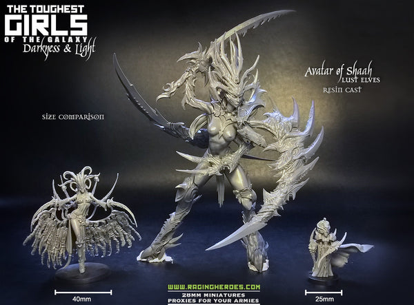Avatar of Shaah Size Comparison
