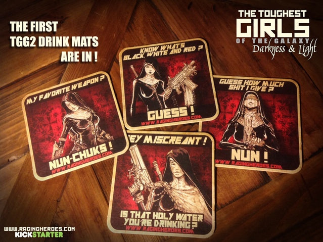Daughters of the Crucible Beer Mats