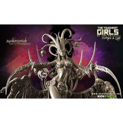 Exclusive LUST Elves Pack with Mahleezariah - Raging Heroes