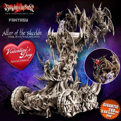 Altar of the Succubi VALENTINE'S DAY Special Edition (DE - F)