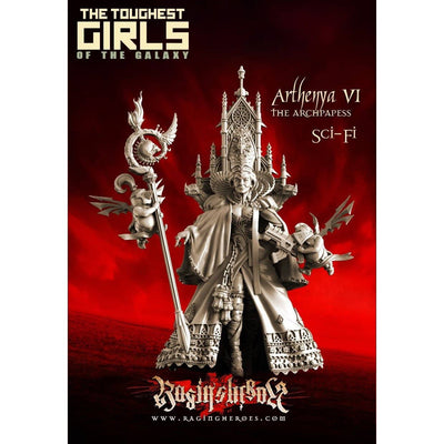Arthenya VI, The Archpapess (Sisters - SF) - Raging Heroes