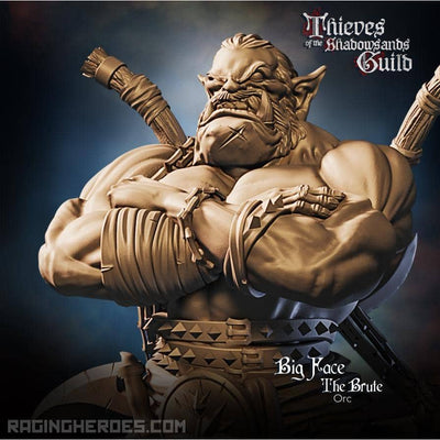 Big Face, the Brute (T - F) - Raging Heroes