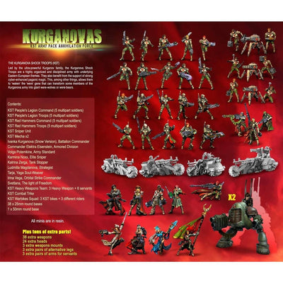 KST Army Pack ANNIHILATION Force (KST) - Raging Heroes