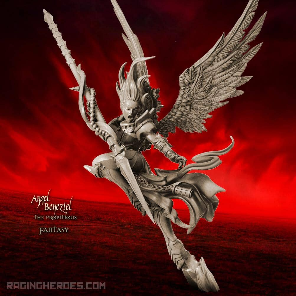 Angel Beneziel the Propitious TR (SoTO – F) - Raging Heroes