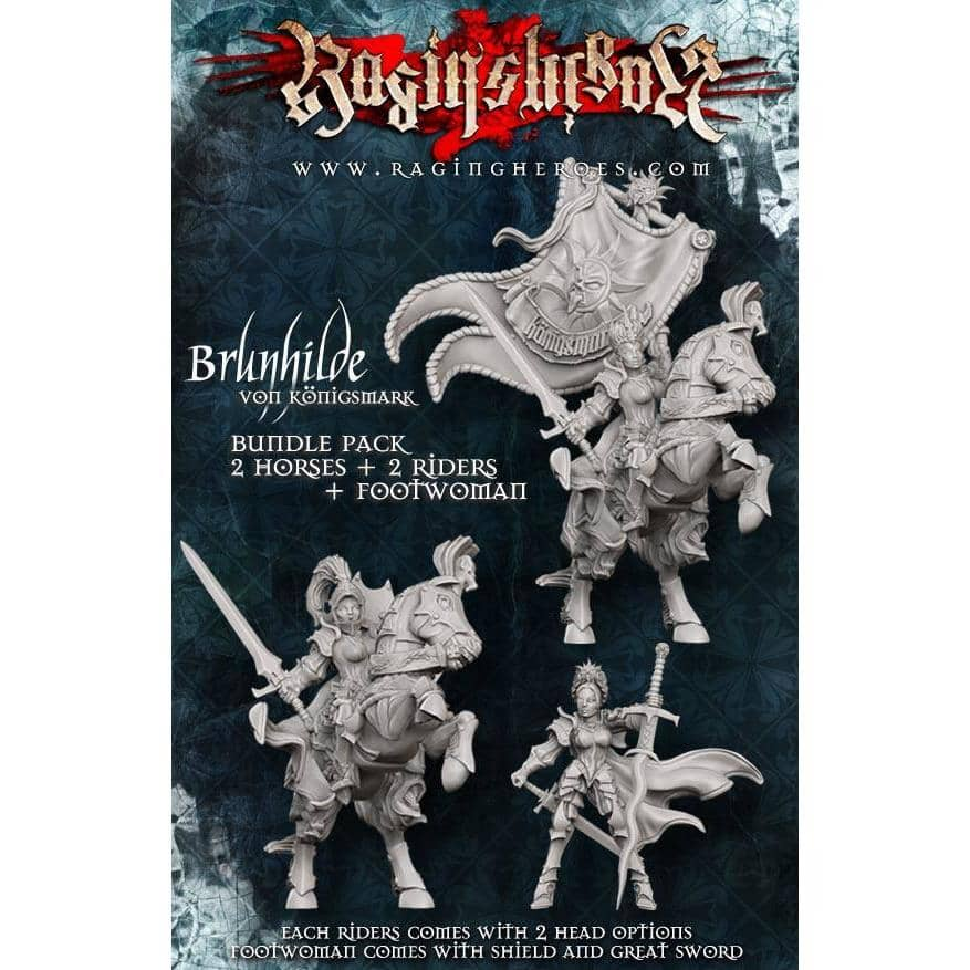 All THREE Brunhilde versions