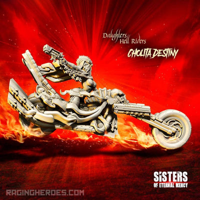 Cholita Destiny, Hell Rider Daughter (SoEM - SF) - Raging Heroes