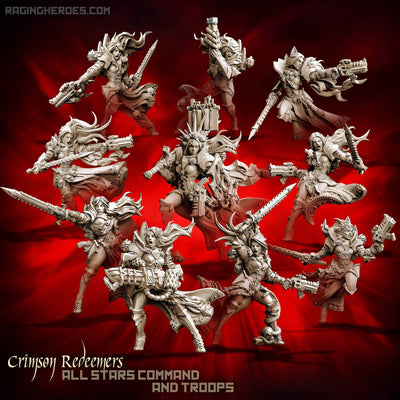 Crimson Redeemers 10 All-Stars – ALL 10! (SOEM – SF) - Raging Heroes