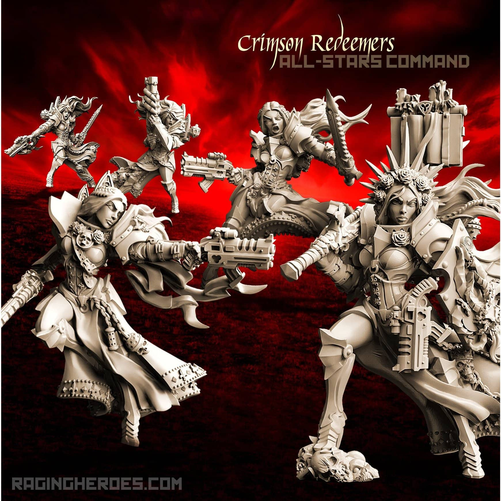 Crimson Redeemers All-Stars – COMMAND (SOEM – SF) - Raging Heroes