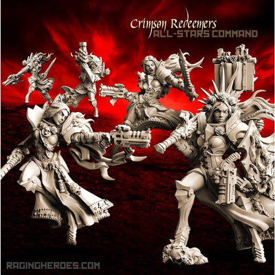 Crimson Redeemers  All-Stars – COMMAND (SOEM – SF)