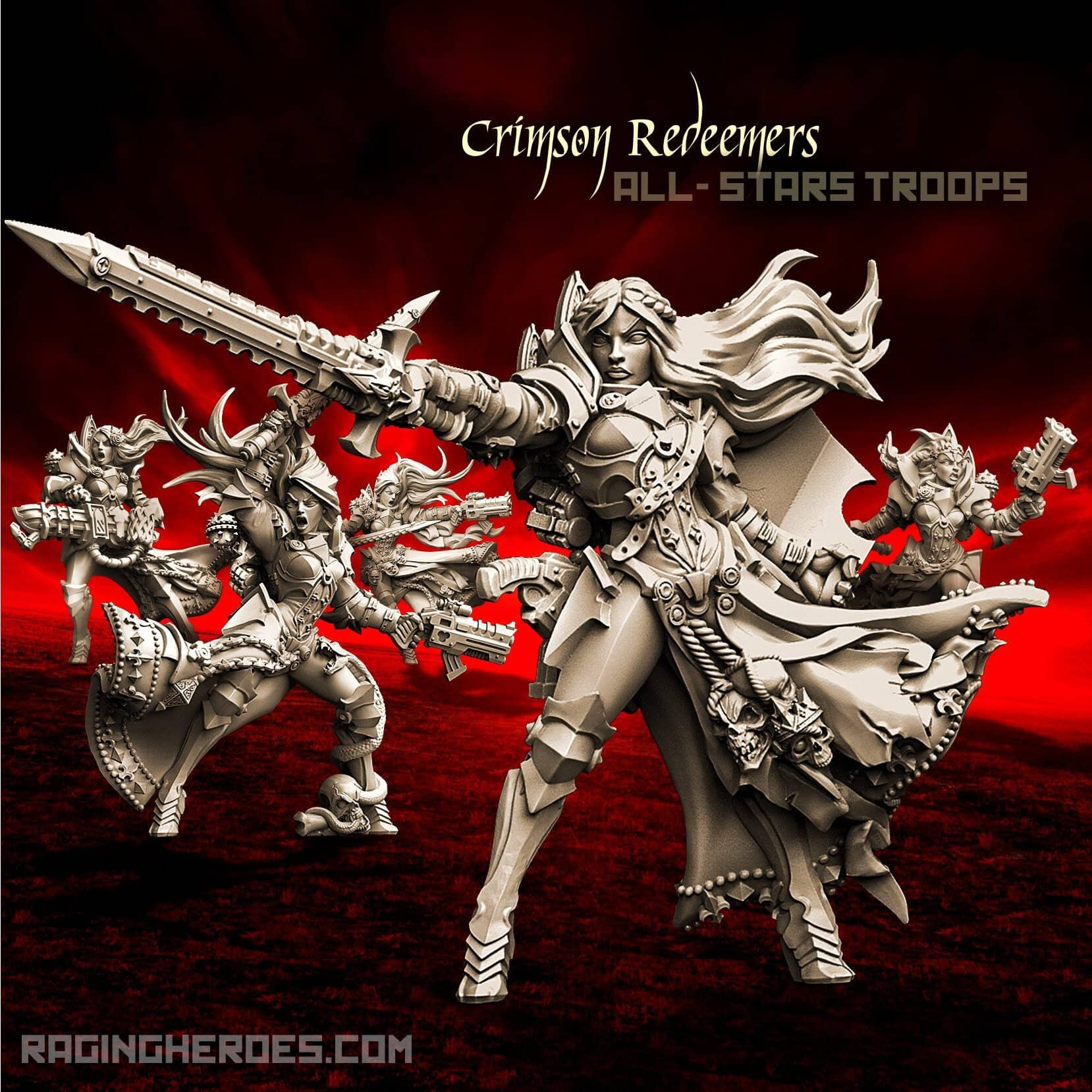Crimson Redeemers All-Stars - TROOPS (SOEM – SF) - Raging Heroes
