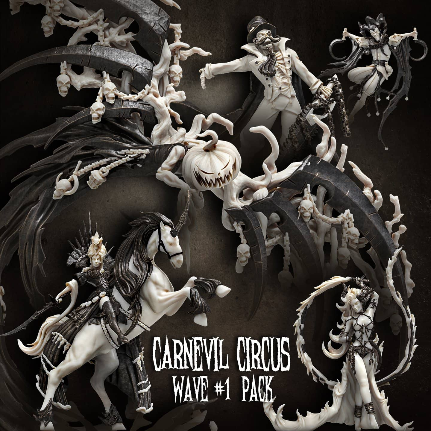Carnevil Circus Wave #1 Pack (CC - F) - Raging Heroes