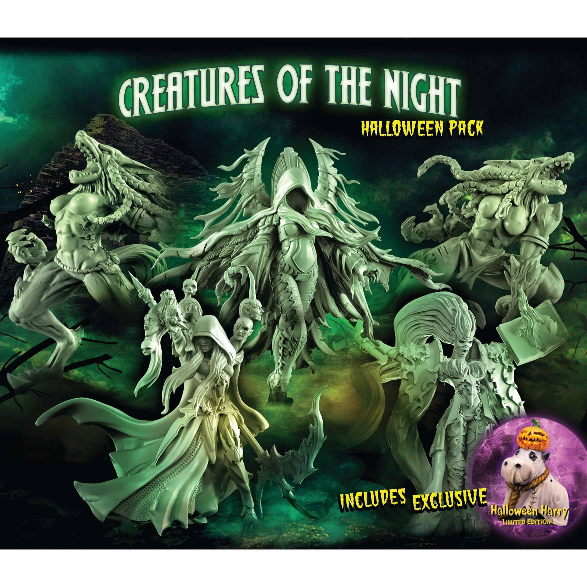 Creatures of the Night 1 - Halloween 2017 - Raging Heroes