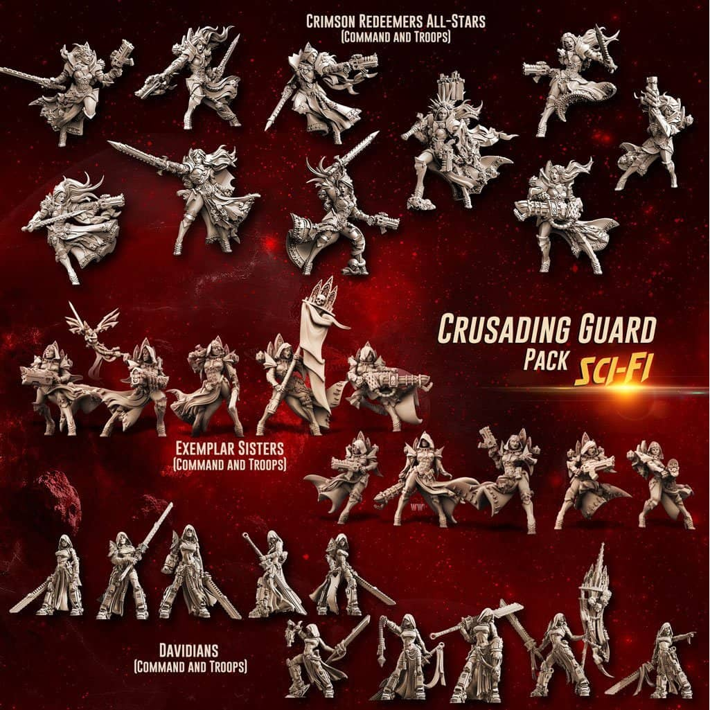 Crusading Guard Pack (SoEM -SF) - Raging Heroes