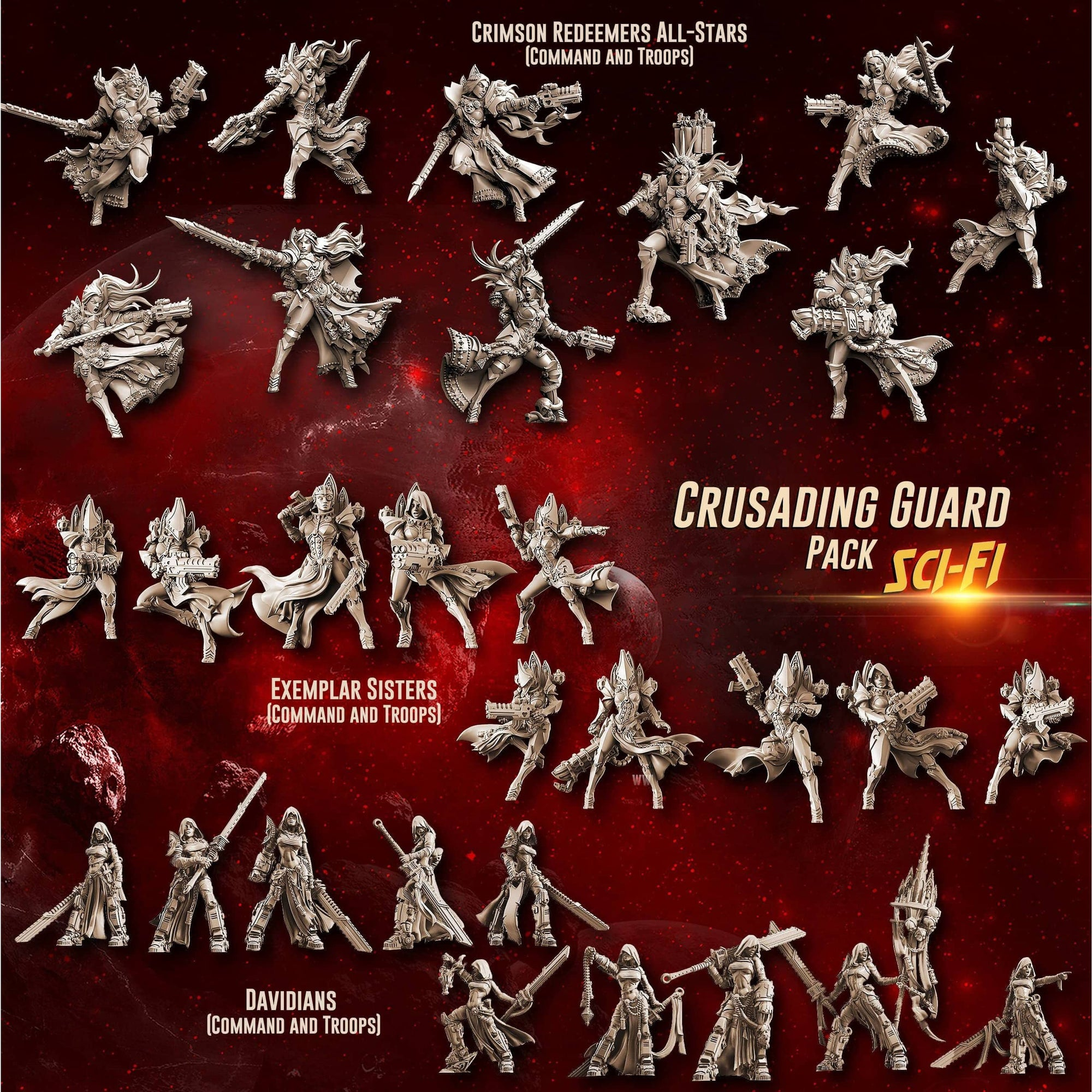 Crusading Guard Pack (SoEM -SF)
