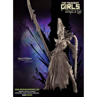 SPEARwomen - Command Group (DE - F) - Raging Heroes