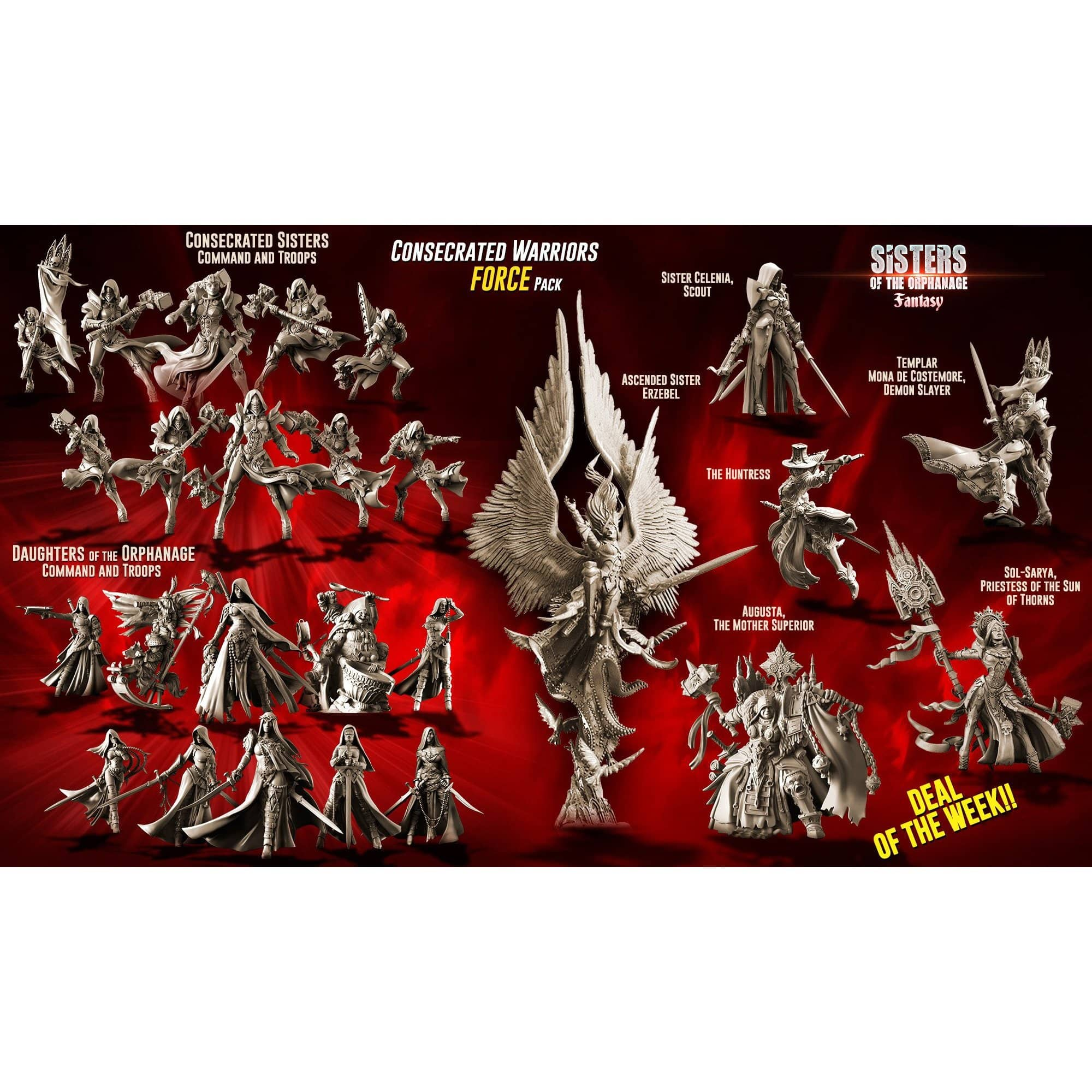 Consecrated Warriors FORCE Pack (SotO - F)