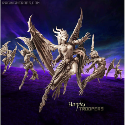 Harpies - TROOPS (DE - F) - Raging Heroes