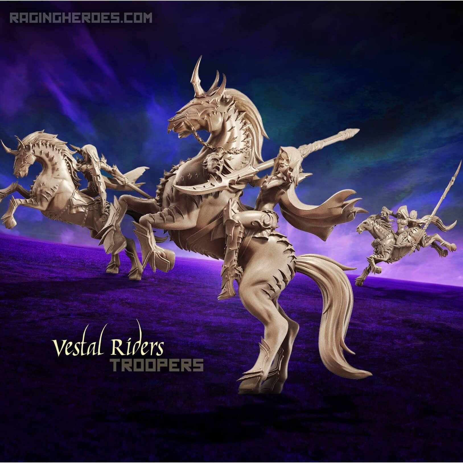 Vestal Riders - TROOPS (DE - F) - Raging Heroes