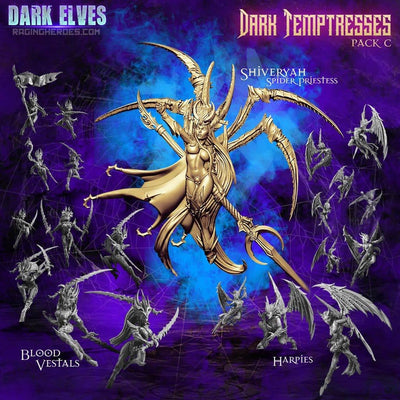 Dark Temptresses Packs (DE - F) - Raging Heroes