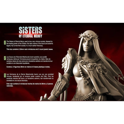 Daughters of the Crucible Pack - All 10 Stars Command AND Troops (Sisters SF) - Halloween Special Offer - Raging Heroes