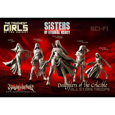 Daughters of the Crucible Pack - All 10 Stars Command AND Troops (Sisters SF) - Raging Heroes