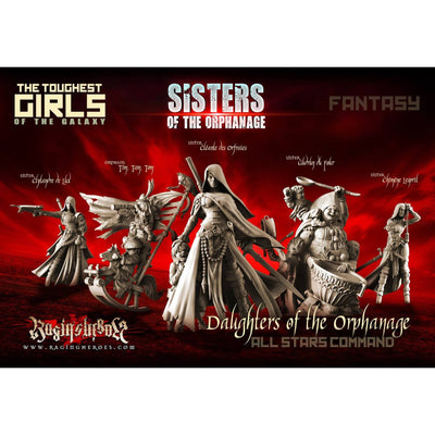 Daughters of the Orphanage - All Stars Command Group (Sisters - FANTASY)
