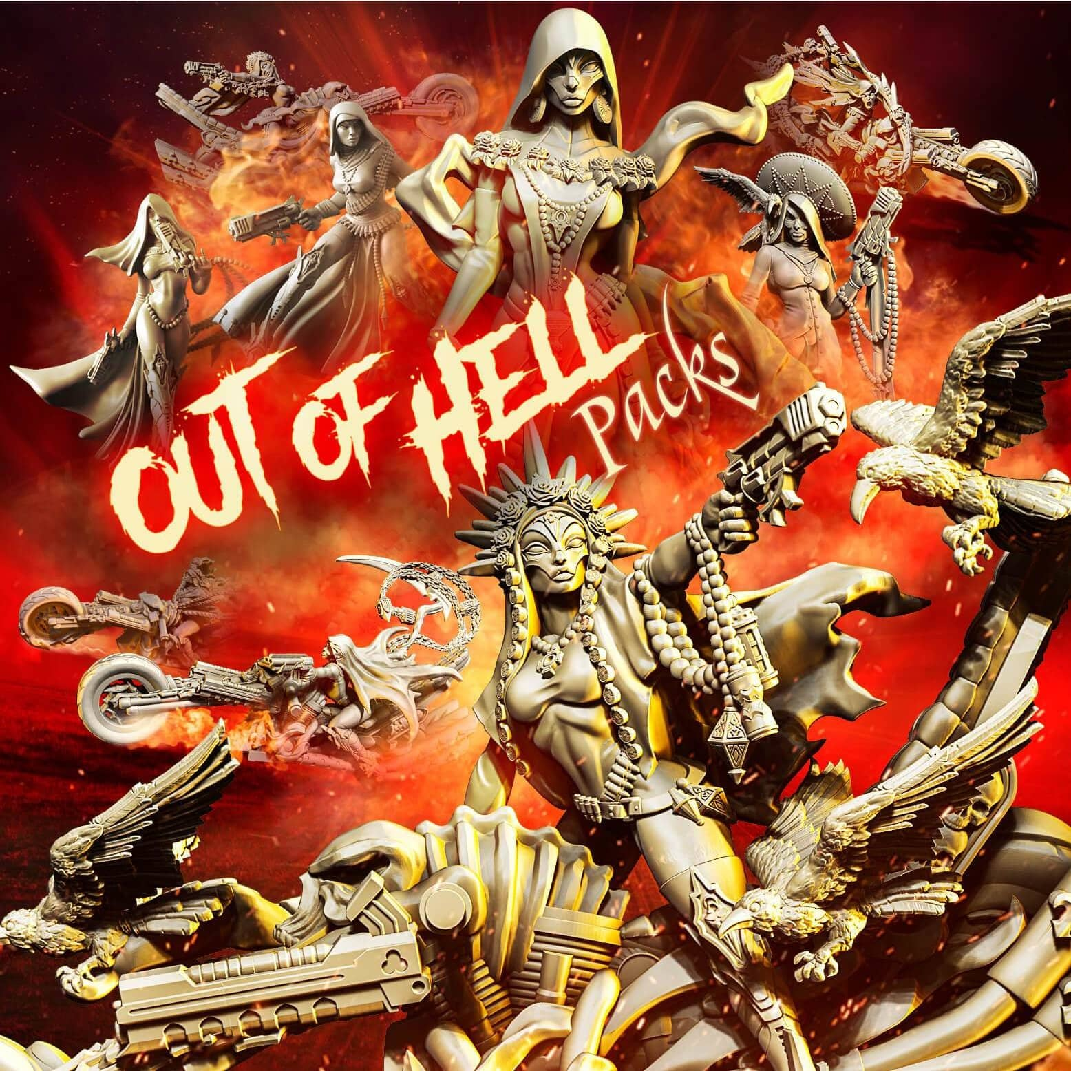 Out of Hell Packs (SoEM - SF) - Raging Heroes