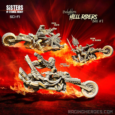 Hell Riders Daughters Box ERW #1 (SoEM - SF) - Raging Heroes