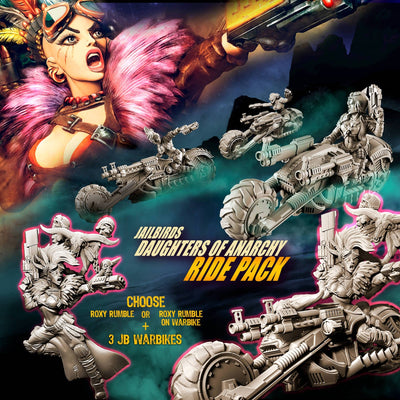 Daughters of Anarchy RIDE Pack (JB - SF) - Raging Heroes