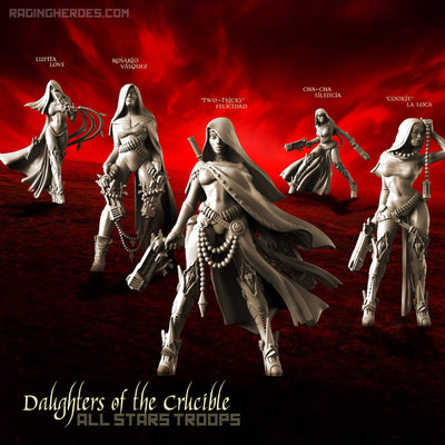 Daughters of the Crucible - All Stars TROOPS (Sisters SF) - Raging Heroes