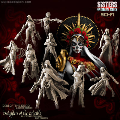 Daughters of the Crucible Pack - Day of the Dead LIMITED EDITION (Sisters SF)