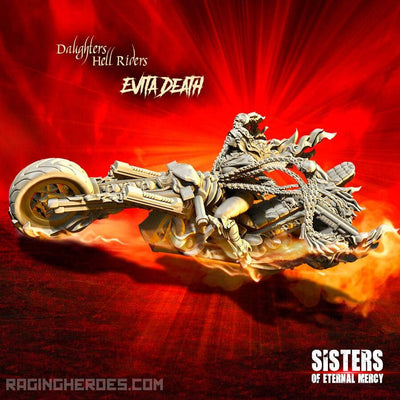 Evita Death, Hell Rider Daughter (SoEM - SF) - Raging Heroes