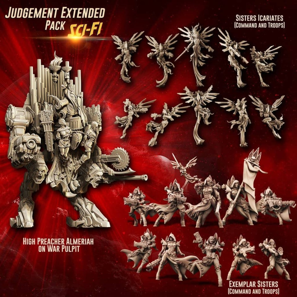 Judgement EXTENDED Pack feat. Almeriah (SoEM - SF) - Raging Heroes