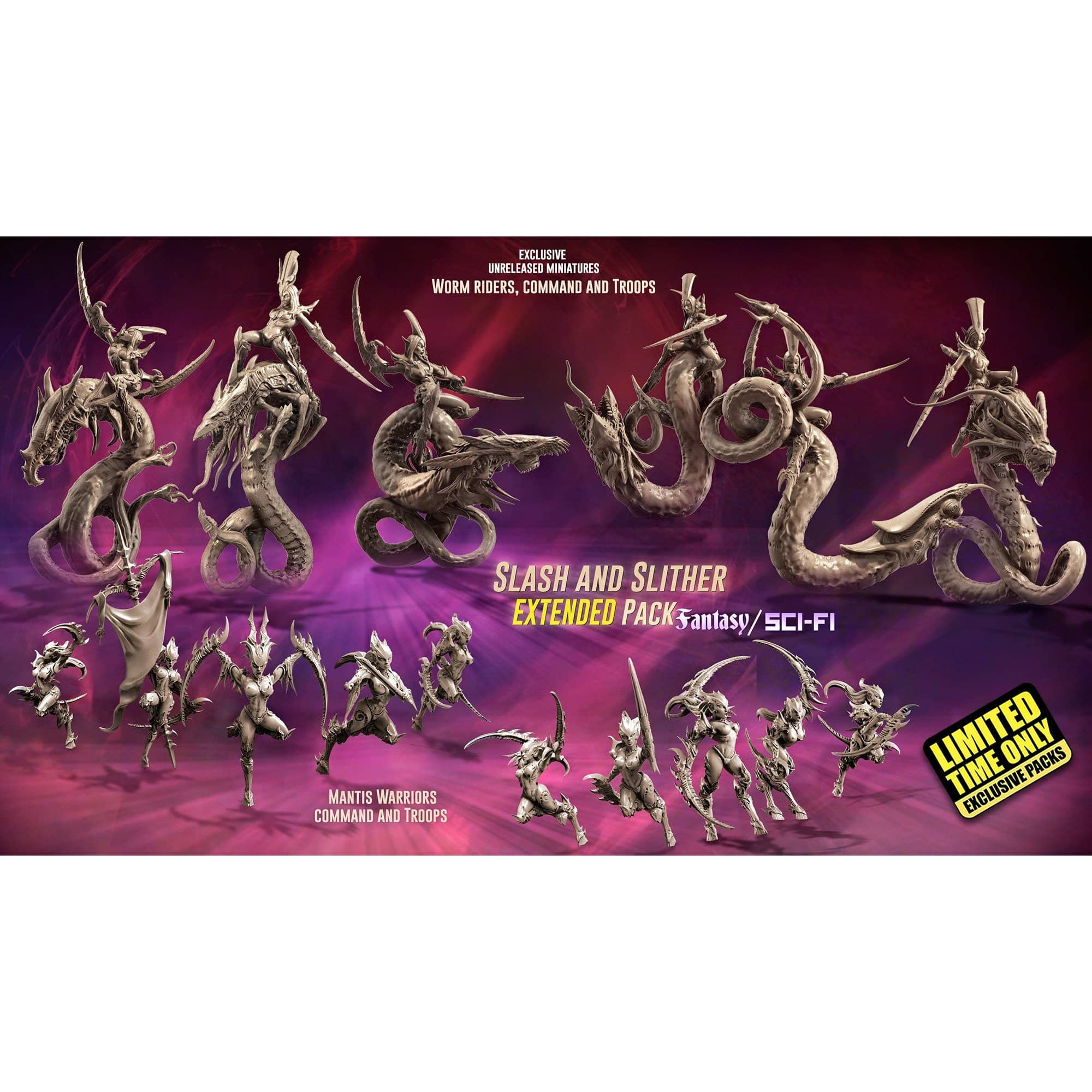 EXCLUSIVE Slash and Slither EXTENDED Pack (LE - FSF) - Raging Heroes