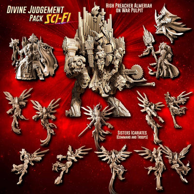 DIVINE Judgement Pack feat. Almeriah (SoEM - SF) - Raging Heroes