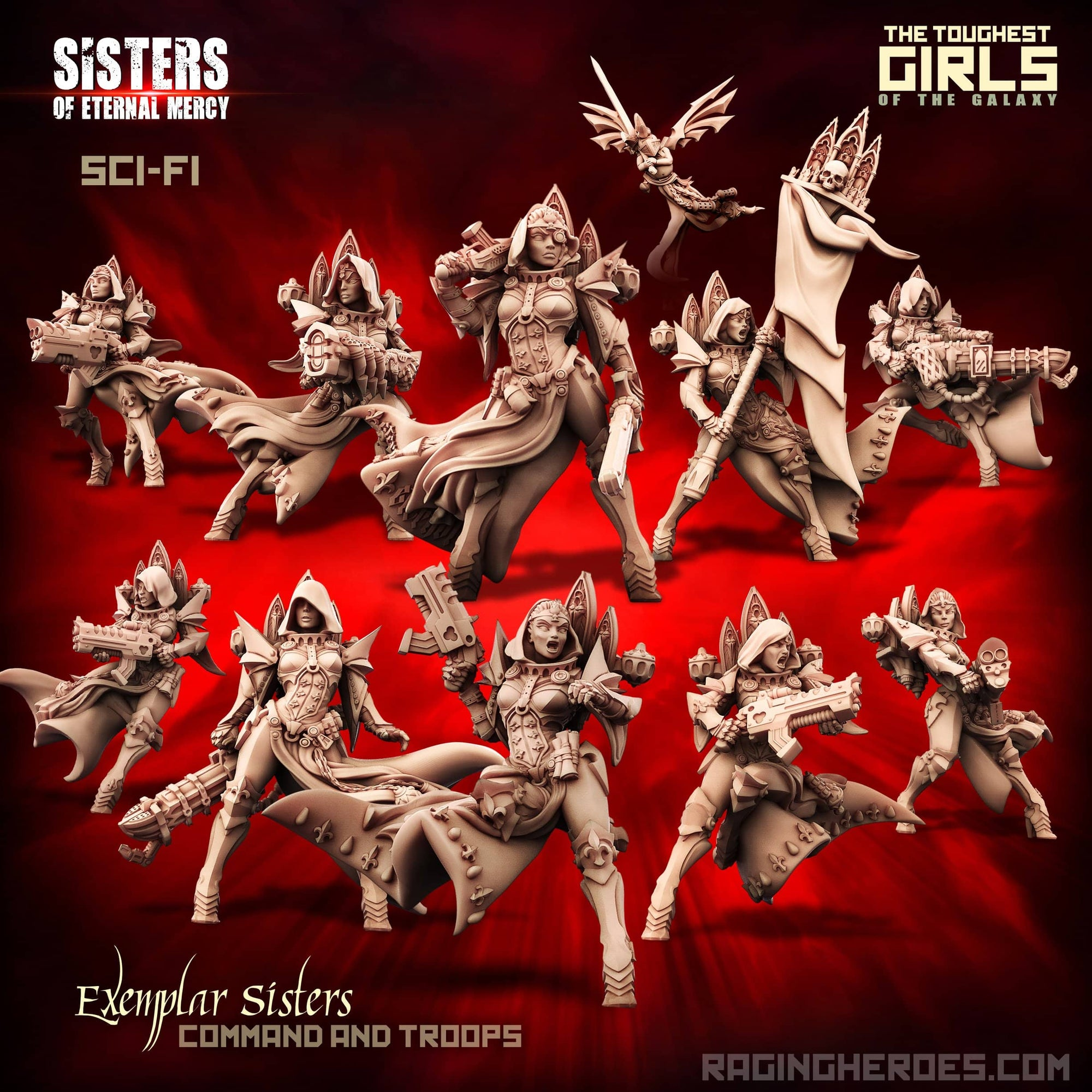 New Exemplar Sisters Pack (SoEM - SF) - Raging Heroes