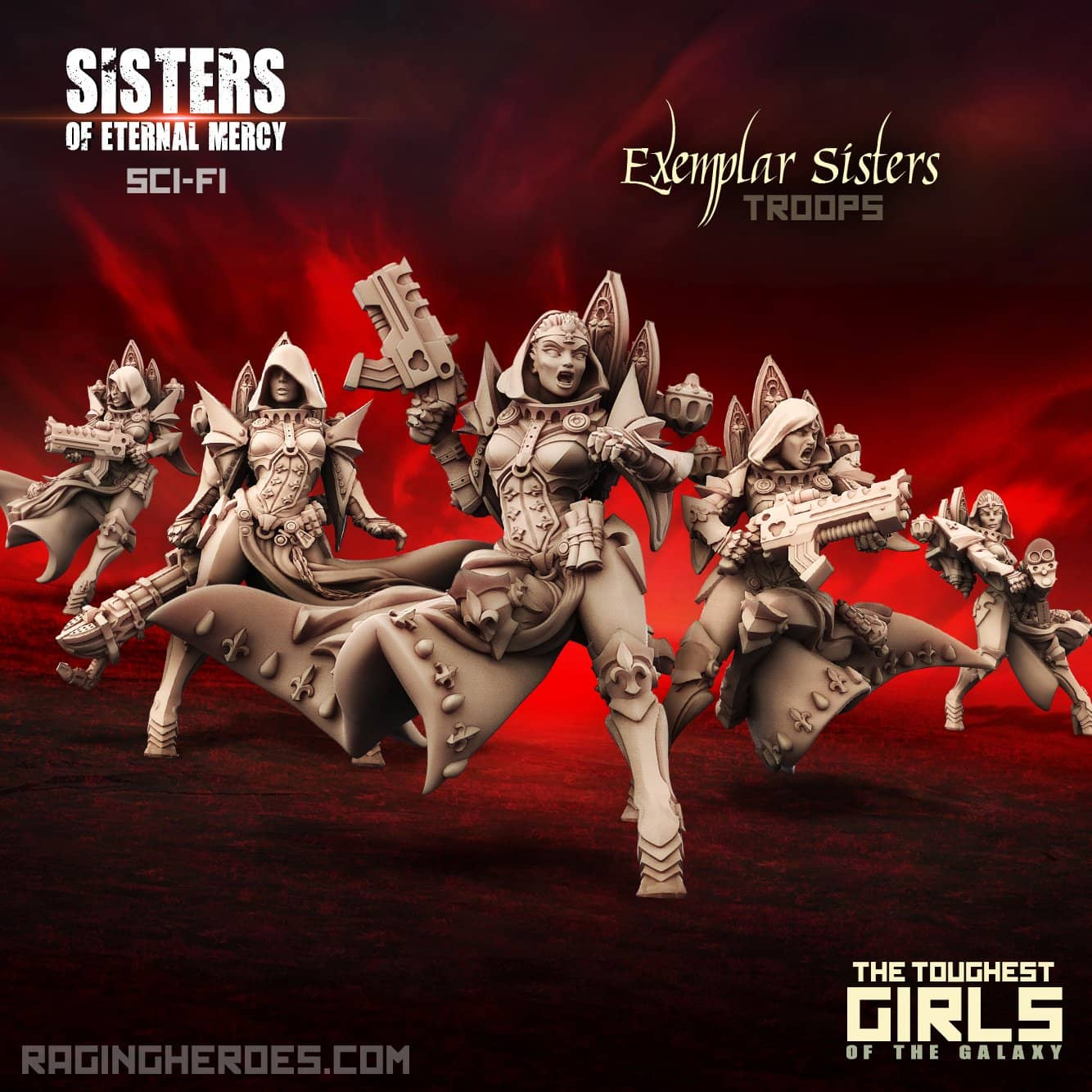 New Exemplar Sisters - Troop (SoEM - SF) - Raging Heroes