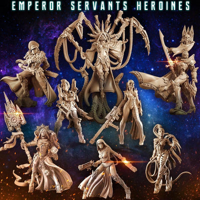 Emperor Servants Heroines (Mixed - SF) - Raging Heroes