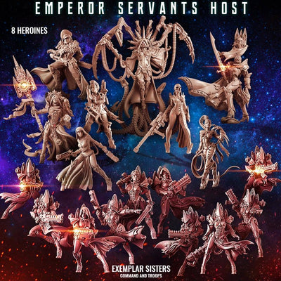 Emperor Servants Host (Mixed SoEM - SF) - Raging Heroes