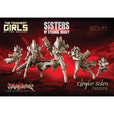 Exemplar Sisters - TROOPS (SoEM - SF) - Raging Heroes