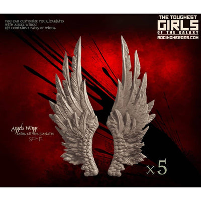 Angel Wings for Icariates (1 set of 5 pairs) (SoEM - SF) - Raging Heroes