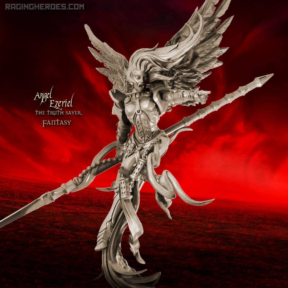 Angel Ezeriel the Truth Sayer CG (SoTO – F) - Raging Heroes