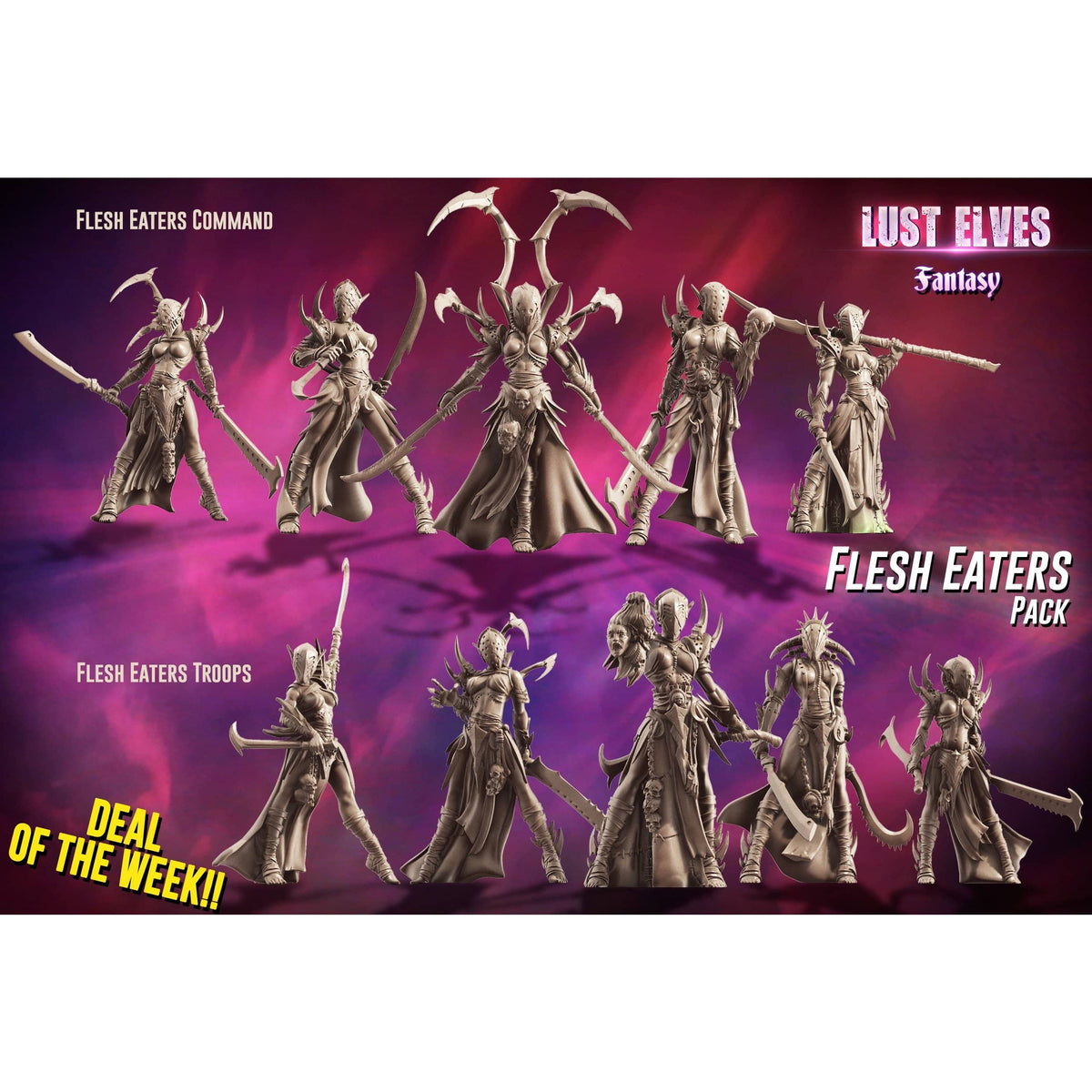 Flesh Eaters Pack (LE - F)