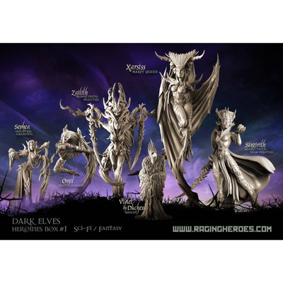 Heroines Box Dark Elves 1 (F/SF)