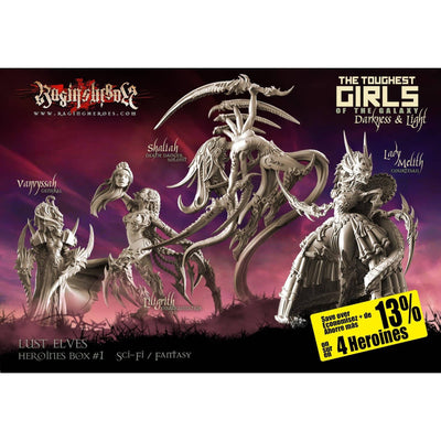 Heroines Box Lust Elves 1 (F/SF)